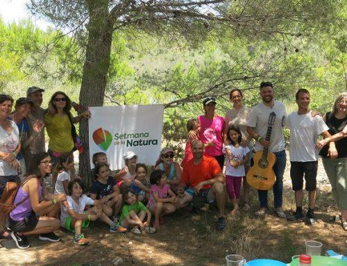 Èxit de participació a la Gimcana Familiar a l'EIN cap de Santes Creus. Setmana Natura 2017