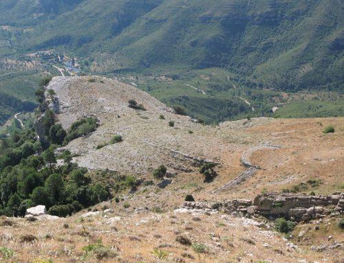 Les  Feixes del Barranc de La Conca, un espectacle geològic.
