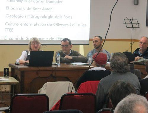 Taula rodona XIV trobada d'entitats a Pena-roja de Tastavins