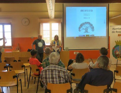 Paraules. Les oliveres en veu dels poetes. Biblioteca Roquetes