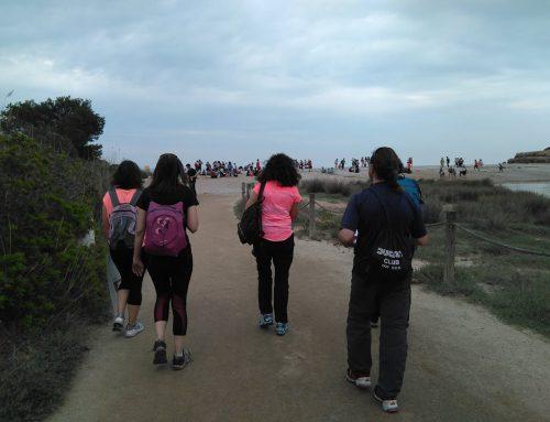 Participació a l' Ultra Clean Marathon de l'Ametlla de Mar.