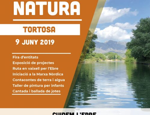 Festa de la Natura 2019 a Tortosa . Cuidem l'Ebre; impacte de les espècies invasores en l'ecologia del riu.