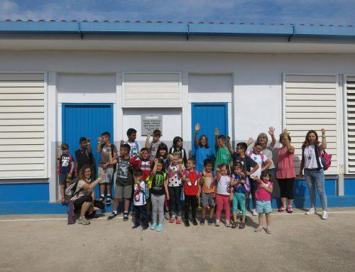 L'Escola Sant Antoni Abat apadrina el Barranc de Els Reguers. Xarxa Natura et protegeix. barranc