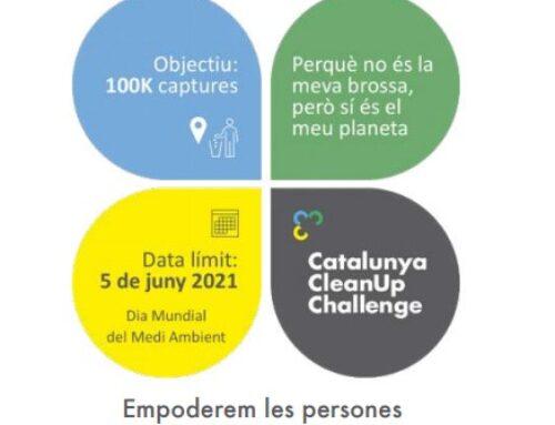 Graellsia s'adhereix a la Catalunya Clean Up Challenge